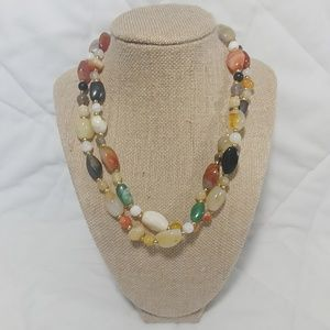 "18"" Glass Bead Necklace"